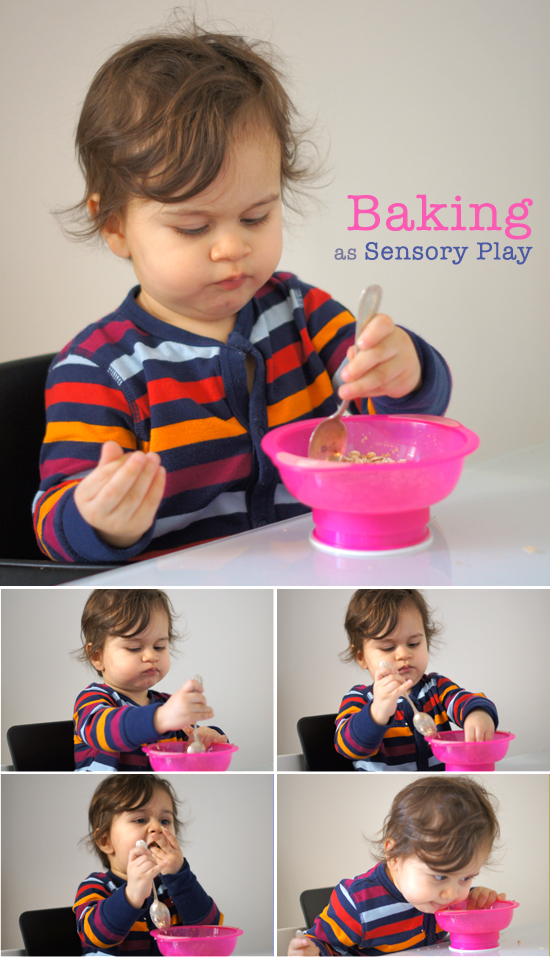 Mini Piccolini: Baking as Sensory Play