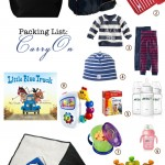 Packing for a One-Year Old: Carry-On