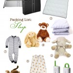 Packing for a One-Year Old (Sleep, Care, Feeding)