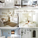 Nursery Color Scheme: White & Bright
