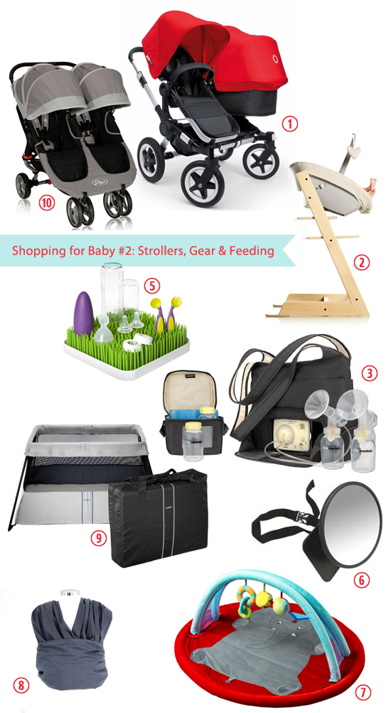 Mini Piccolini - Shopping for Baby #2 (Strollers, Gear, Feeding)