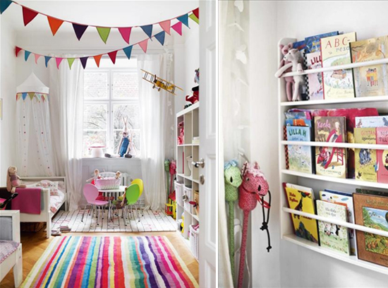 Nursery Decorating with Bunting