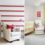 Inspiration for a Red Nursery