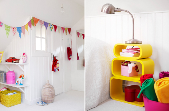 Mini Piccolini - Pink, Yellow and White Kids Room