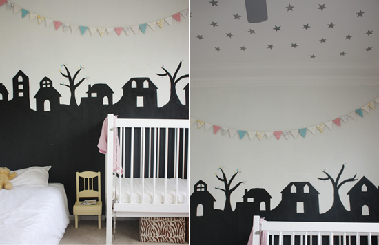 Mini Piccolini - Nursery Decorating with Bunting