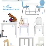 Mini Tables & Chairs
