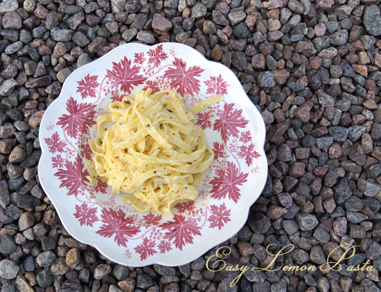 Mini Piccolini - Easy Lemon Pasta