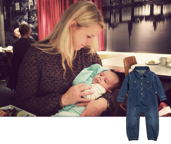 Mini Piccolini: Louis' Cool Denim Overall