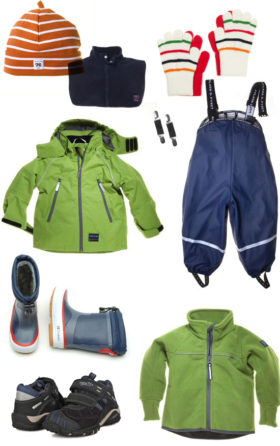Mini Piccolini - Autumn Outerwear for Toddlers