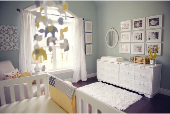 Absolutely Gorgeous Nursery by Kerrianne Brown Photography