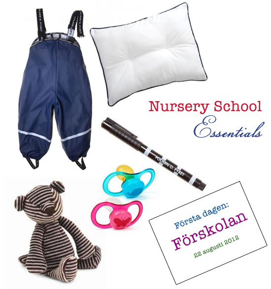 Mini Piccolini - First Day of Nursery School