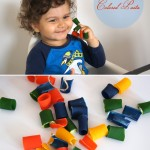 DIY Colored Pasta Play
