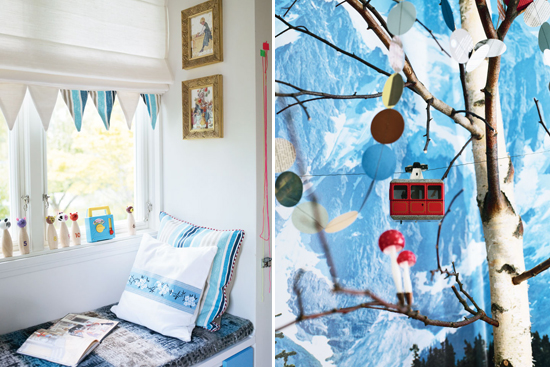 Mini Piccolini - Swiss Alps-inspired Kids Room