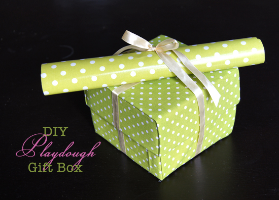DIY Playdough Gift Box