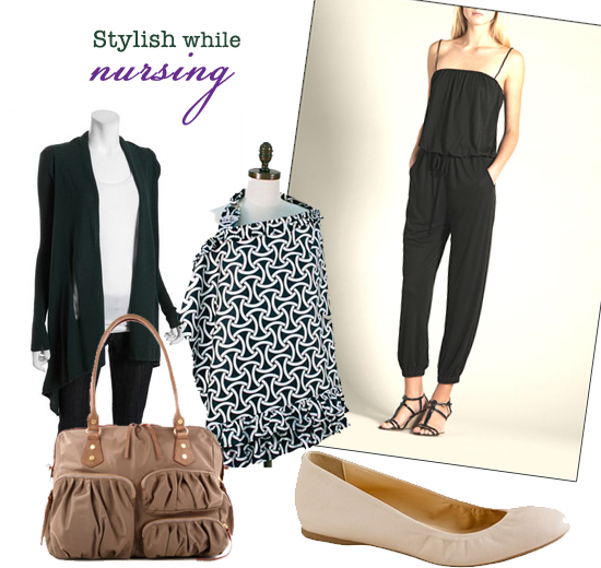 Mini Piccolini - Stylish while Nursing (what to wear for a casual night out while you're breastfeeding)