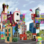 DIY Milk Carton Cities