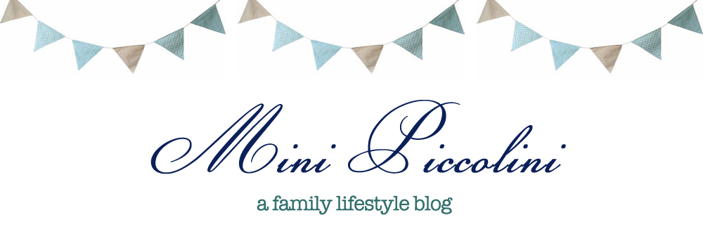 Mini Piccolini! a family lifestyle blog