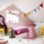 Pink, Yellow and White Kid's Room