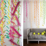 Colourful Birthday Party Streamers