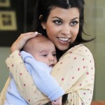 Mother with Style: Kourtney Kardashian