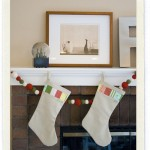 DIY Patchwork Christmas Stockings