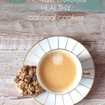 Delicious and HEALTHY Oatmeal Chocolate Chip Cookies